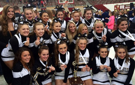 NHS Cheer Places 3rd in State