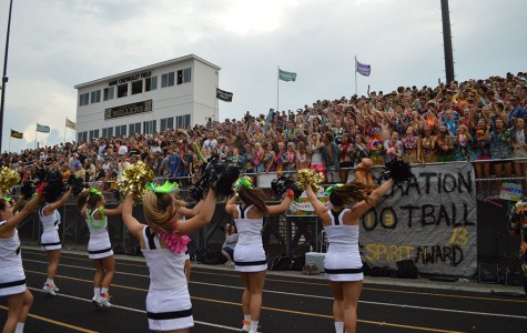 Miller student section throws a beach party in the bleachers (Gallery)