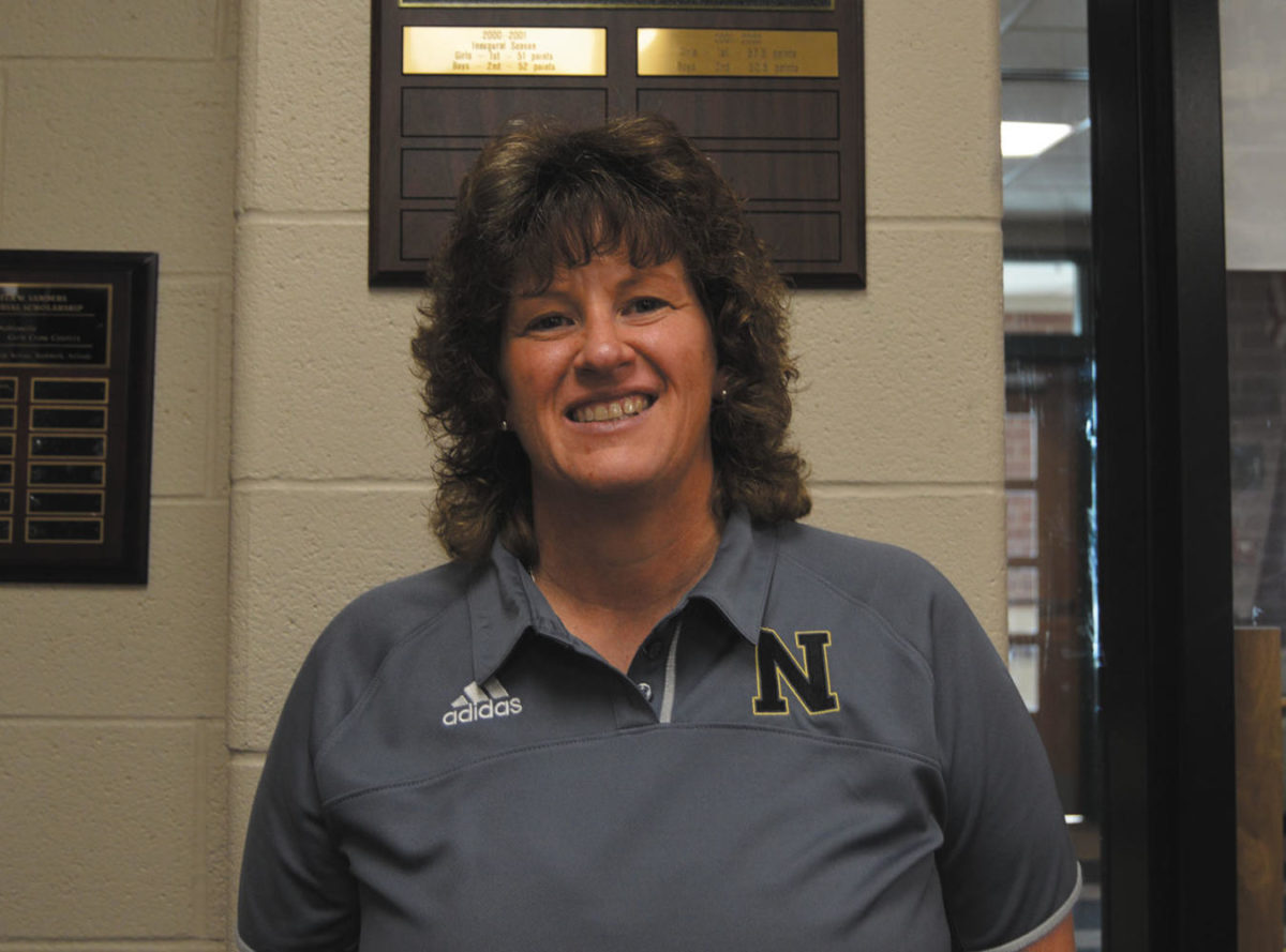 First year Noblesville High School athletic director, Leah Wooldridge