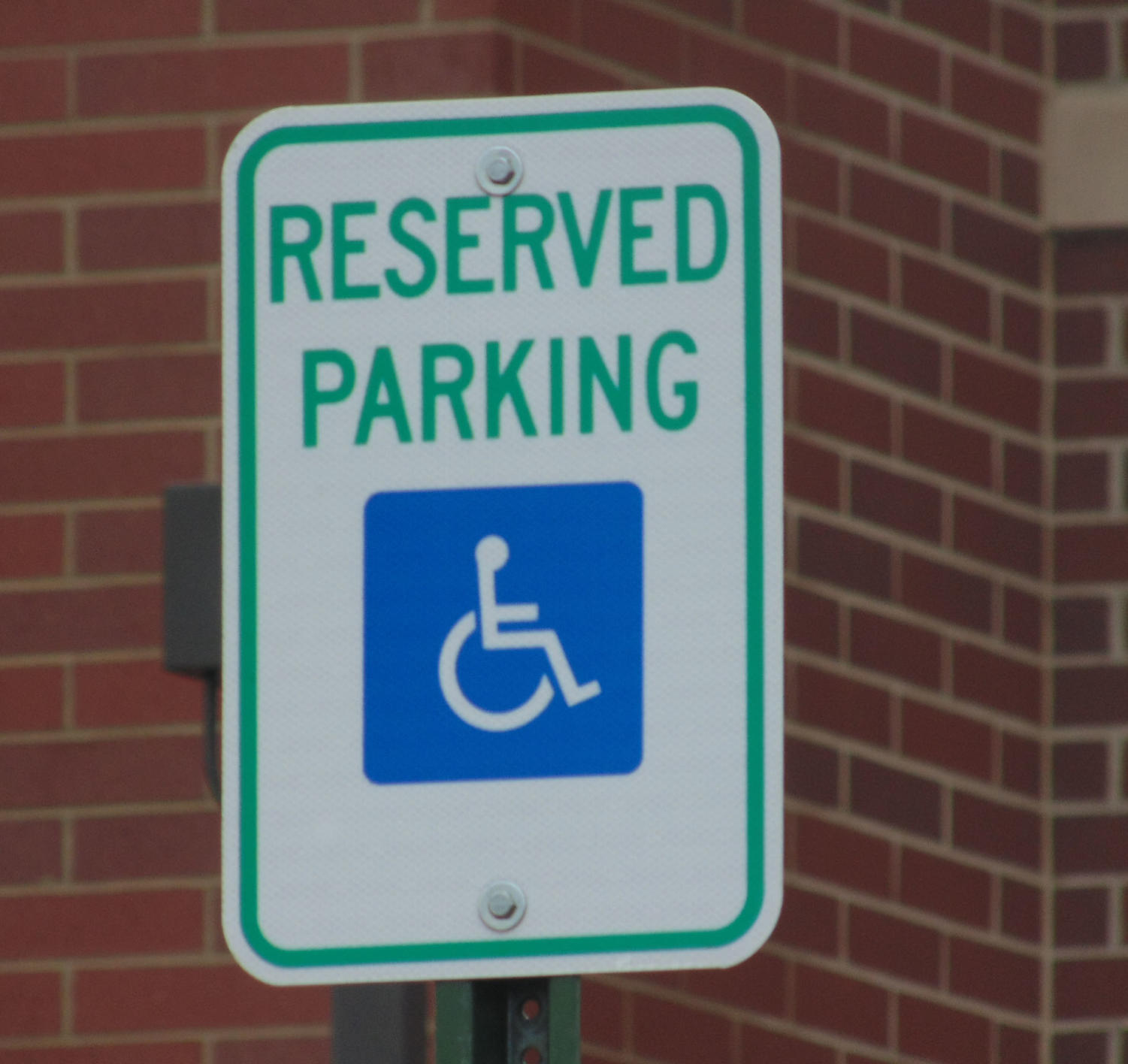 Handicapped parking is being constantly abused