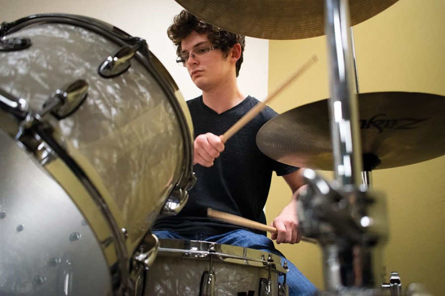 Board is performing in the upcoming school musical. He has participated in NHS musicals for the past three years. His favorite was Spamalot.
