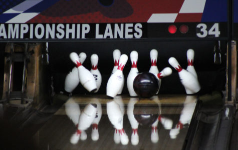 The bowling team 'strikes' back