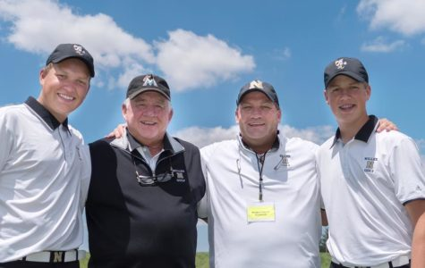 Three generations of Miller golfers (left to right) – Parker Deakyne, Pete Deakyne, Gary Deakyne, and Jacob Deakyne have competed as finalists at states. Pete qualified for finals in 1963, Gary following in '87 and '89, Parker in 2014, 2016, and 2017, and Jacob qualifying in 2017 and 2018.