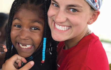 Siefert and fourth grader Francielis met and became close friends last summer.