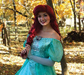 Not your average princess: Senior Leah Spurlock has many magical activities to fill her royal days
