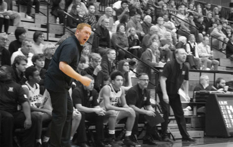 Back in the game: Coach Peckinpaugh steps up as new basketball coach